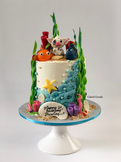Nemo & Friends Cake