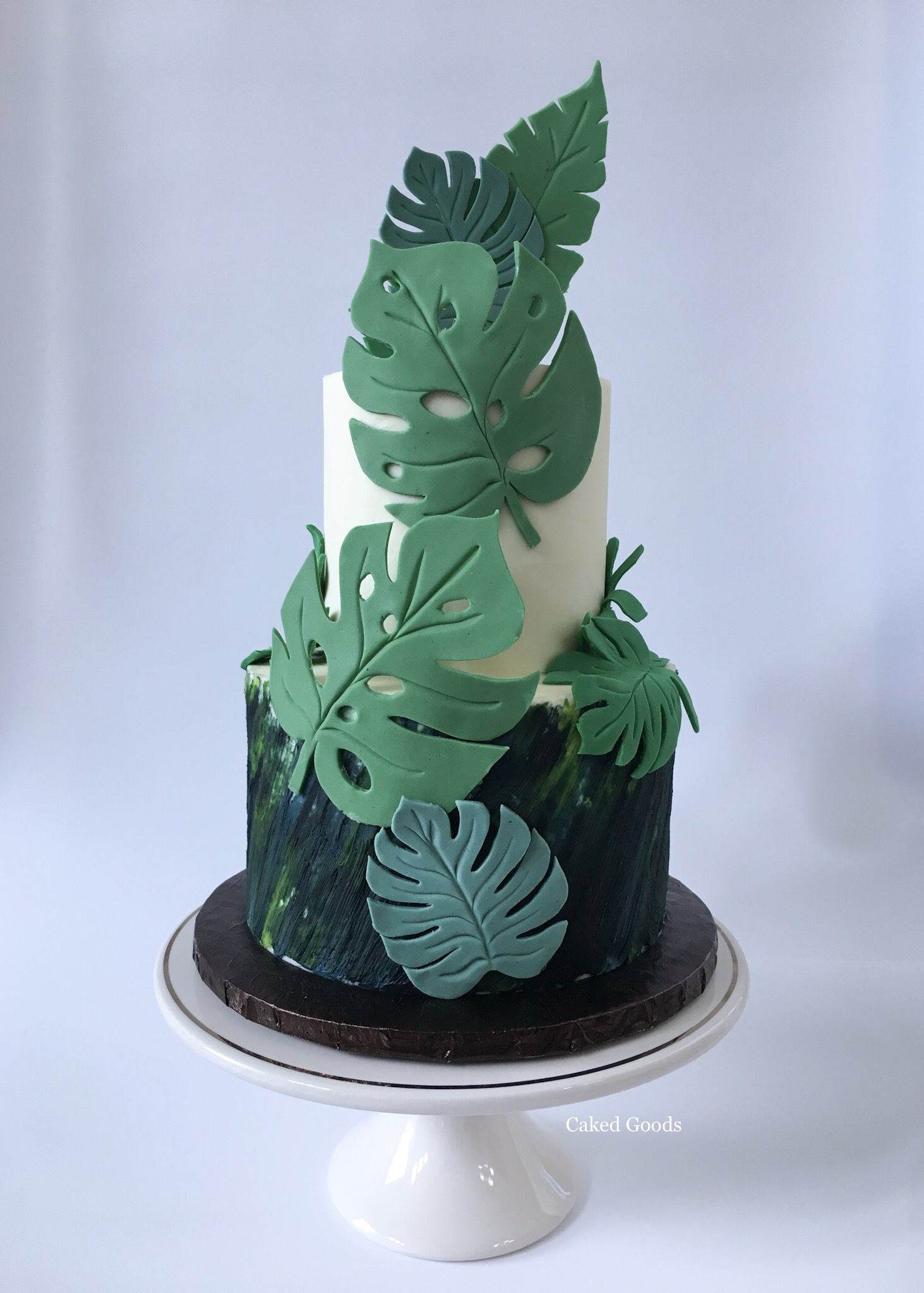Tropical Theme Cake