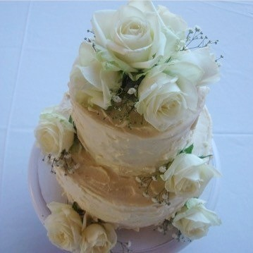 White Rose & Texture Buttercream