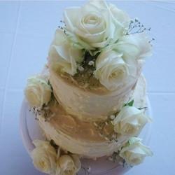White Rose & Texture Buttercream