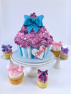 Jojo Inspired Cake