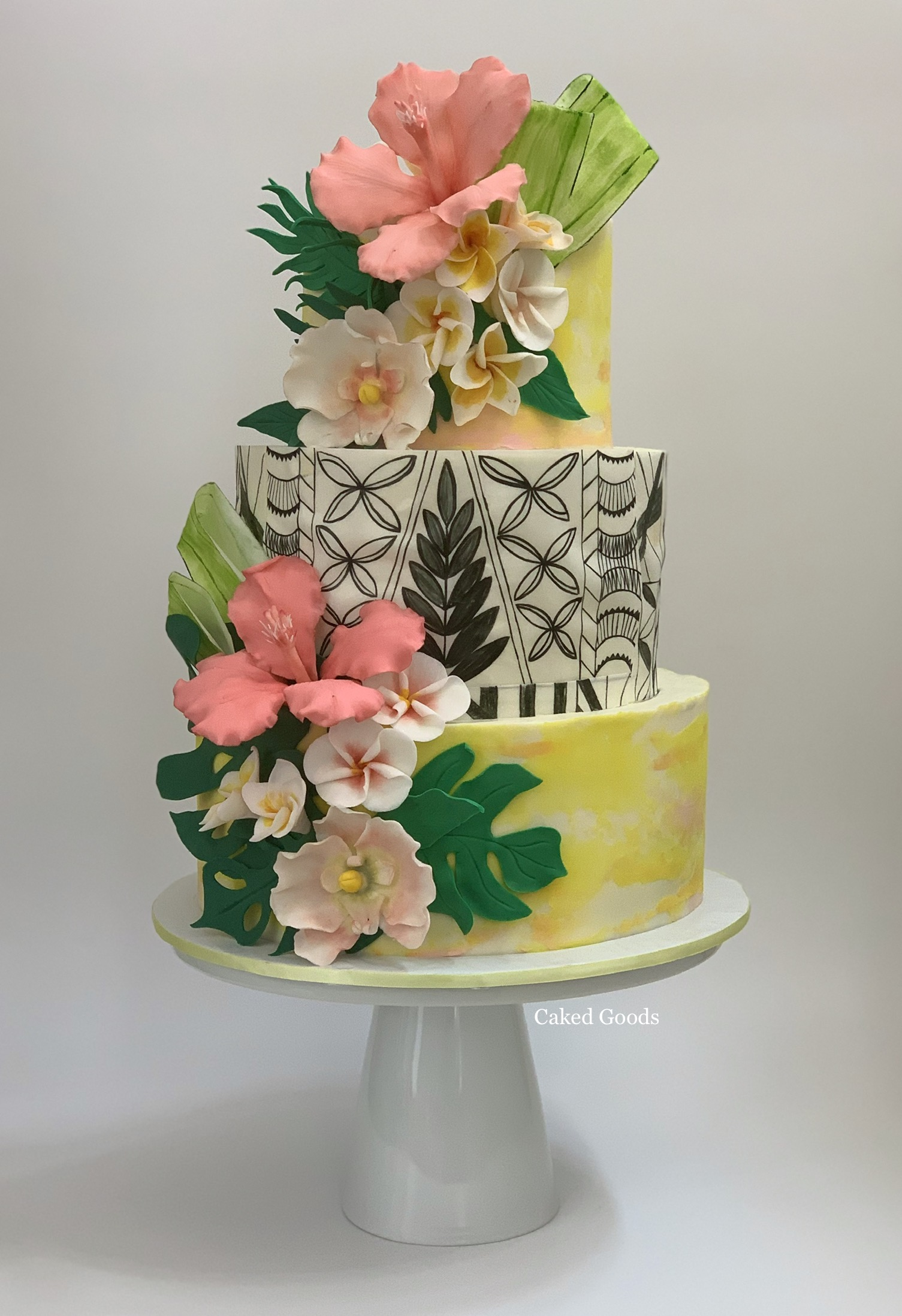 Tropical Vibes Cakes