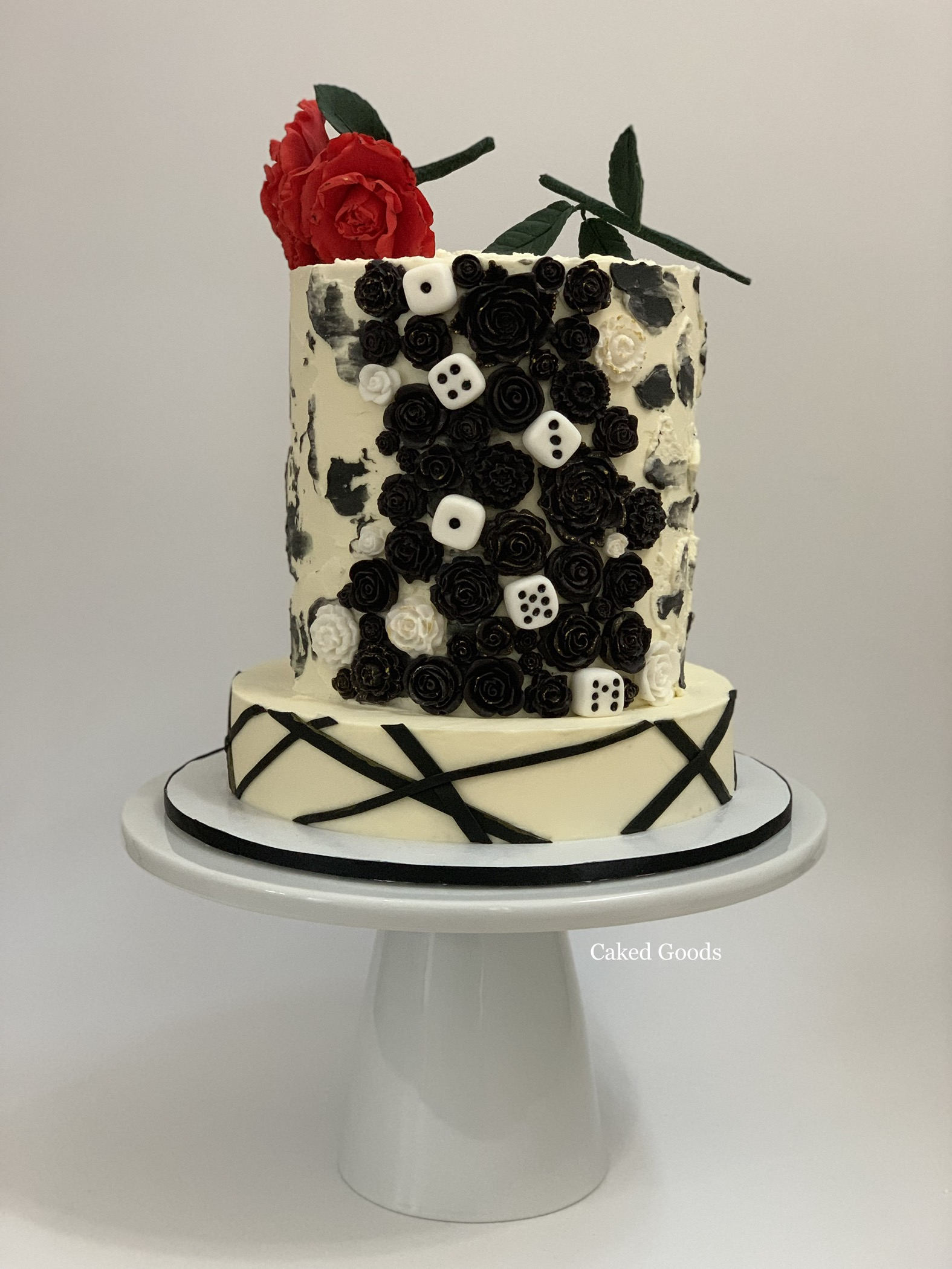 Love & Death Cake
