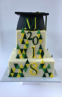 THS Graduation Cake