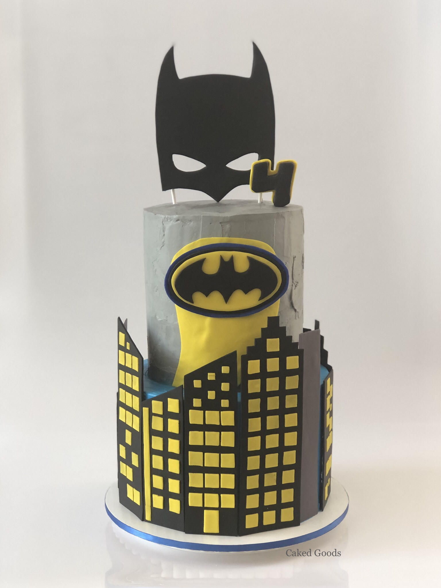 Batman Gotham Cake