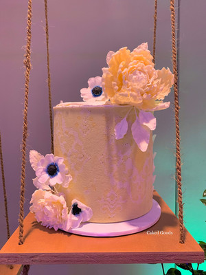 Ikat Entremet Cake