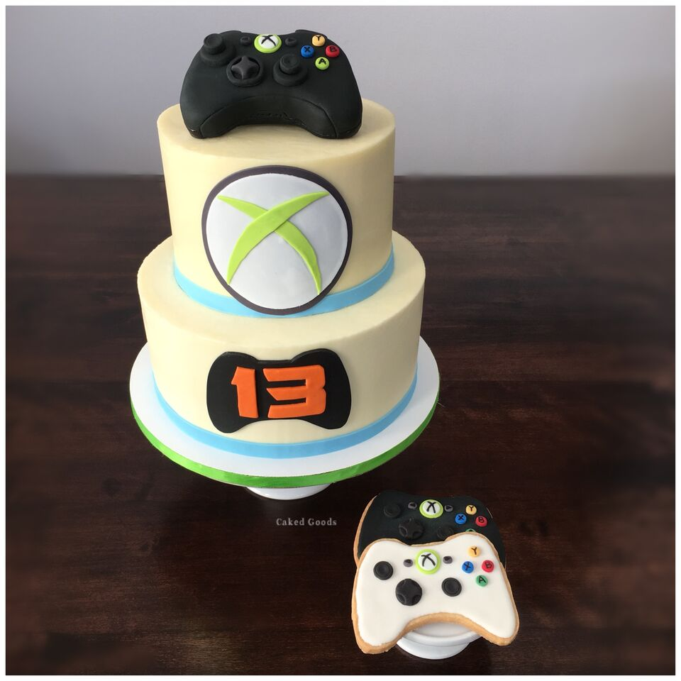 Gamer's Dream Cake