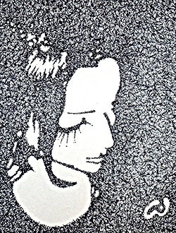 Pen and ink drawing by Emil Gatone