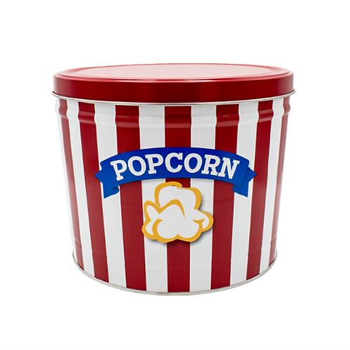 Blue Ribbon Popcorn Tin - Two Gallon