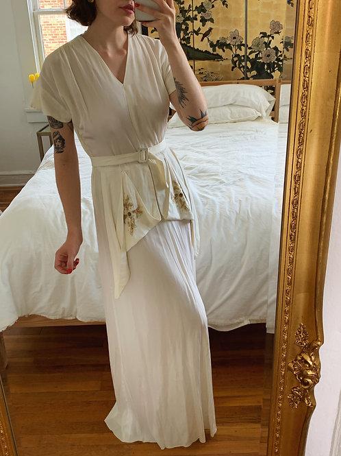 1940s Emma Domb Wedding Dress