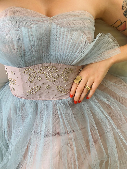 1950s Tulle Gown