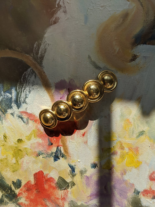 French Gold Barrette