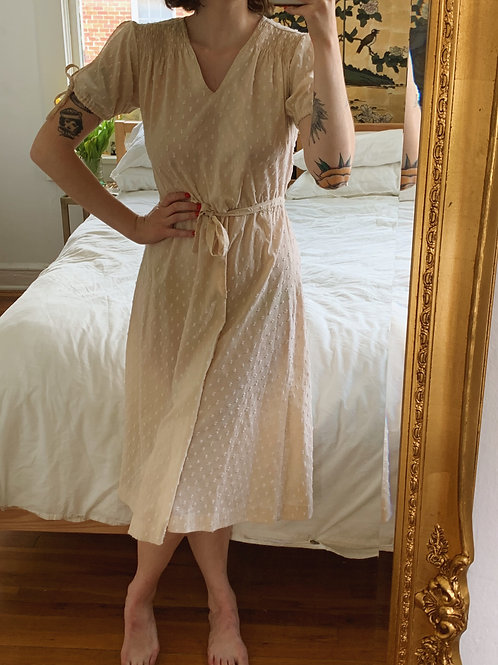 PBJ Swiss Dot Dress
