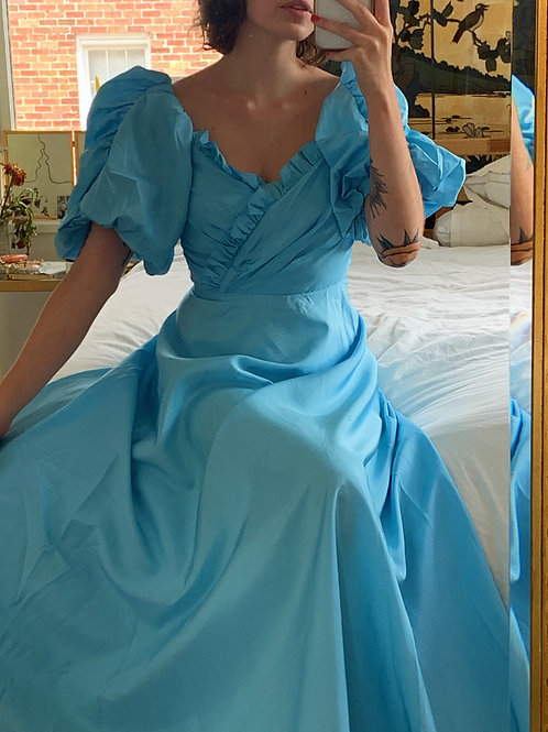 Powder Blue Gown