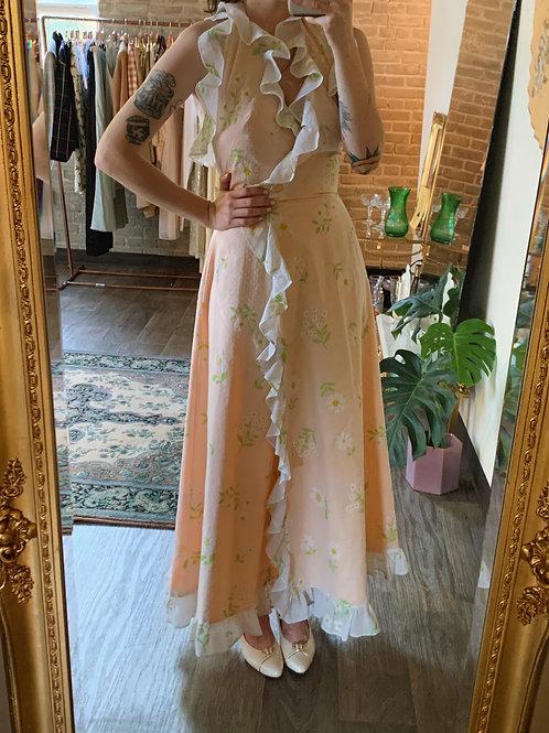 Daisy Ruffle Wrap Dress