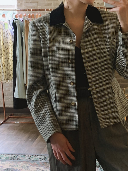 Tweed Workwear Jacket
