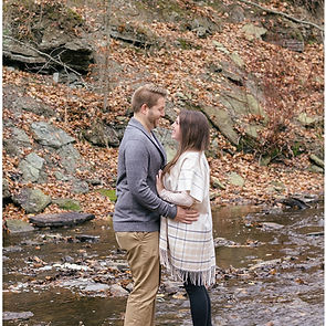 Fall Wisconsin Engagement Photography