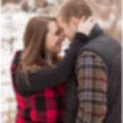 Wisconsin Winter Engagement Photography