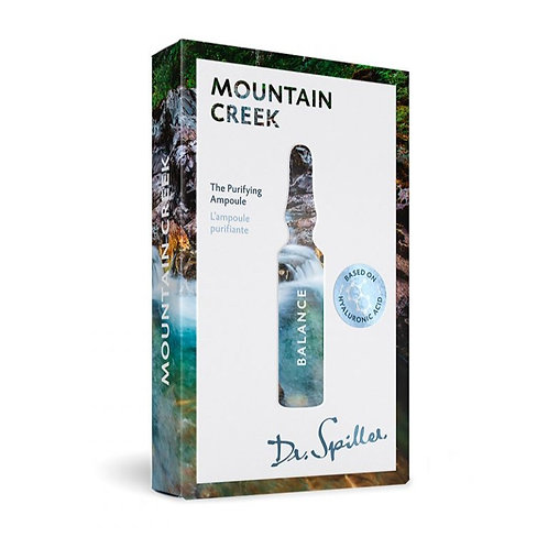 L'ampoule purifiante - Mountain Creek - 7 x 2ml - Dr. Spiller