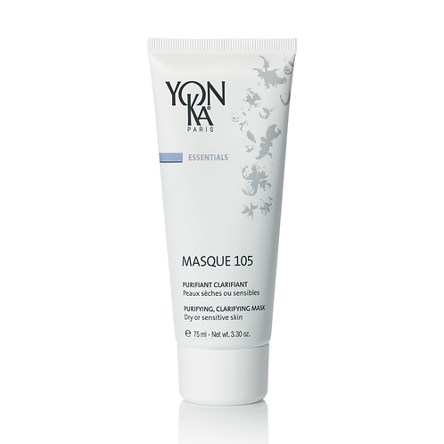 Masque 105, Purifiant Clarifiant, Peaux Sèches ou Sensibles, 25 ml - Yon-Ka