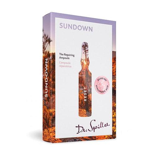 L'ampoule réparatrice - Sundown - 7 x 2ml - Dr. Spiller