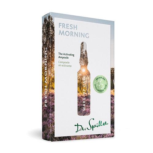 L'ampoule ré-activante - Fresh Morning - 7 x 2ml - Dr. Spiller