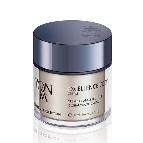 Crème Excellence Code, Globale Jeunesse, Peaux Matures, 50 ml - Yon-Ka