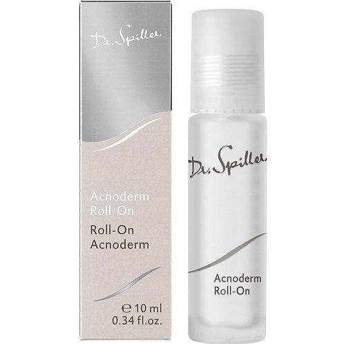Roll-on Acnoderm, antimicrobien, astringent et désinfectant, 10 ml - Dr. Spiller