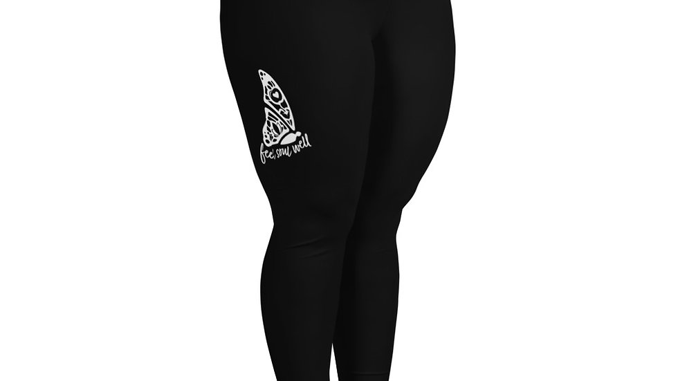 Feel Soul Well Plus Size Leggings in black