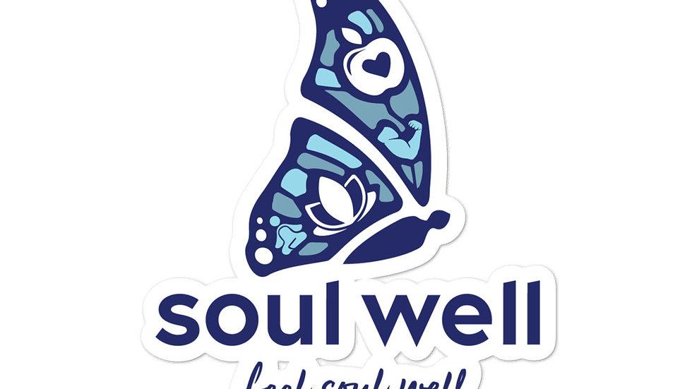 Feel Soul Well Logo sticker