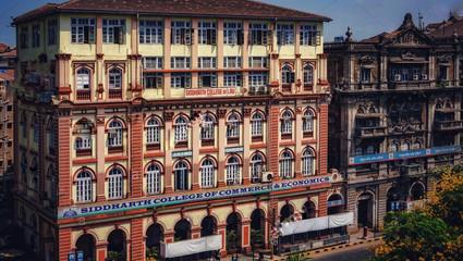 Foundations of College established by Dr. Ambedkar Shaking