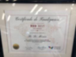 Certificado RED BELT de ENGAGE & GROW.jp