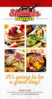 Skillets Restaurants Catering menu and planning guide