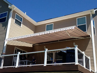 13 foot projection awning