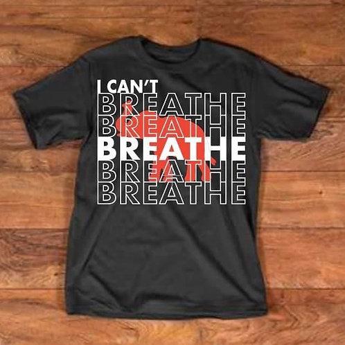 I Can't  Breathe Greek Shirts