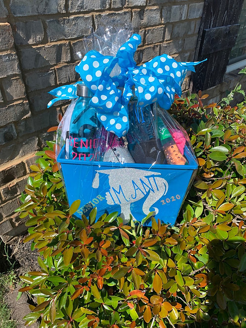 Personalized Basket With Shirt