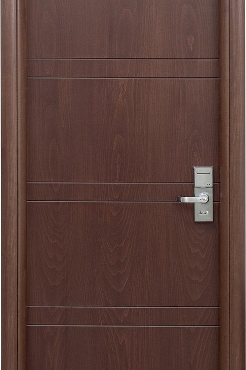Πόρτα οξυά με παντογραφικό σχέδιο