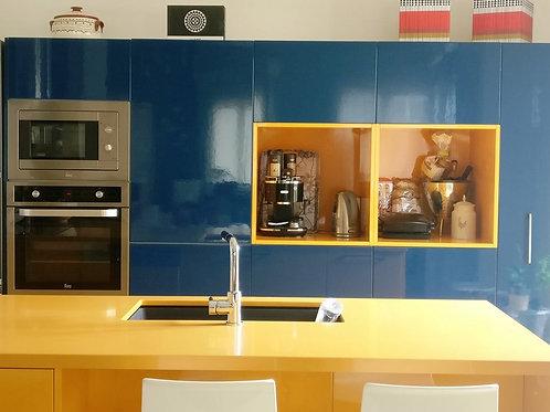 """Κουζίνα """"Modern-Retro"""""""