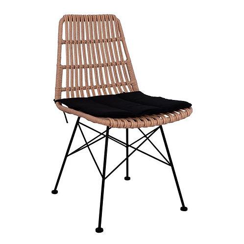 """Καρέκλα """"PLEX"""" φυσική"""