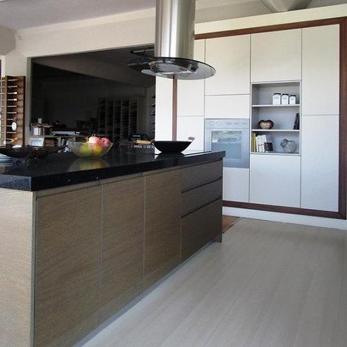 """Κουζίνα """"Νatural Oak- laccato"""""""