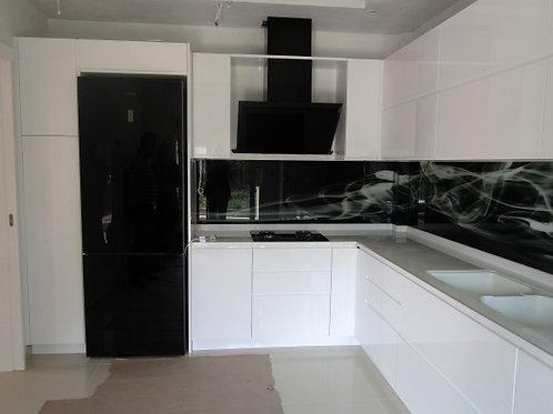 """Κουζίνα """"Minimal white"""""""