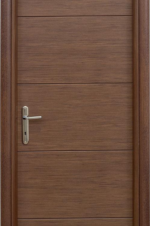 Πόρτα τεχνιτό δρυς με σχέδιο