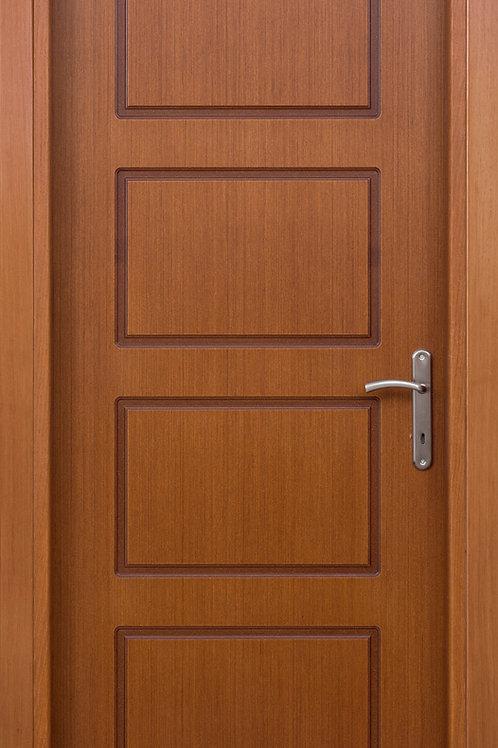 Πόρτα Ανεγκρέ με παντογραφικό σχέδιο