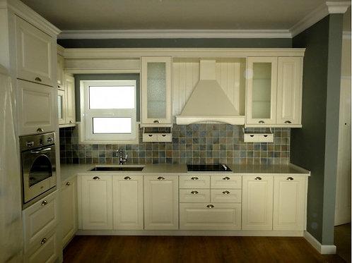"""Κουζίνα """"Classic Oak Ice"""""""