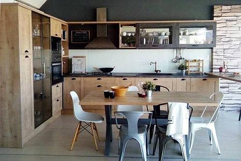 """Κουζίνα """"Modern Roustic Oak"""""""