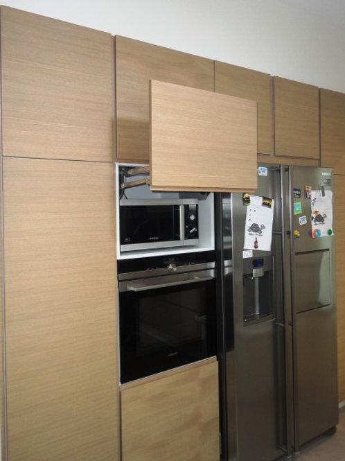 """Κουζίνα """"Natural Oak-White"""""""