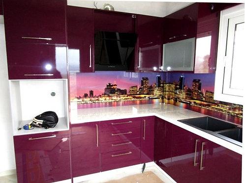 """Κουζίνα """"Purple"""""""