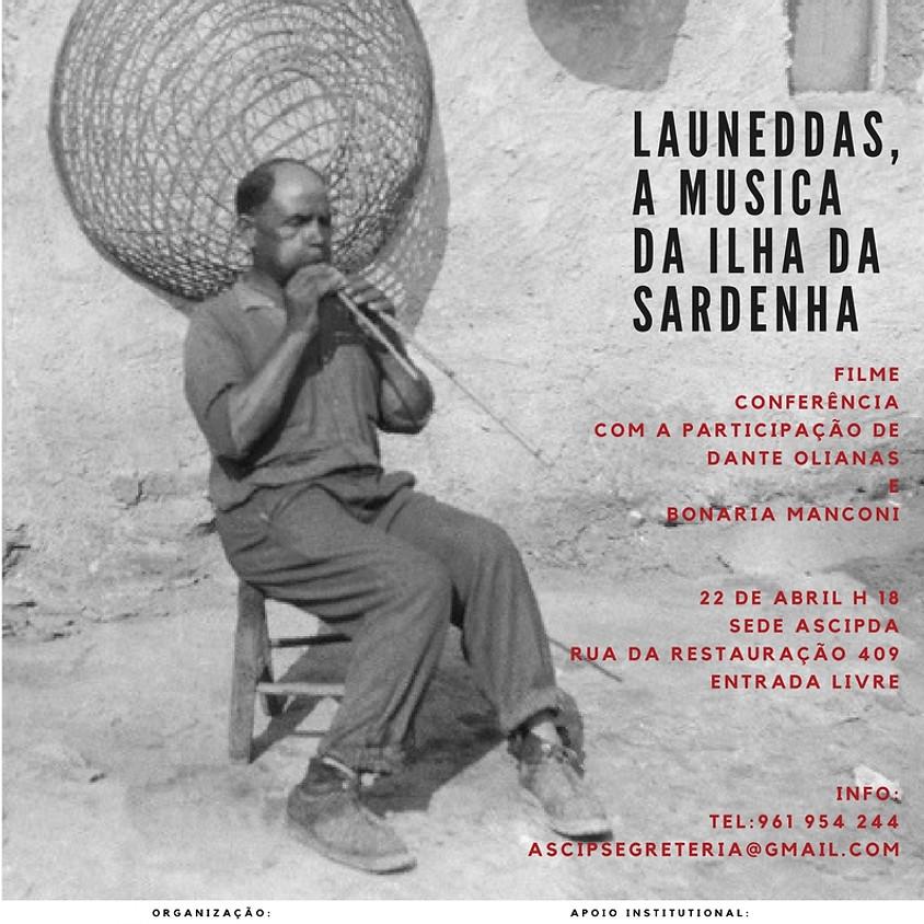 """Projecção Filme e conferência """" Is Launeddas, la musica dei Sardi"""" (1)"""