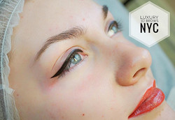 Eyeliner & Lips