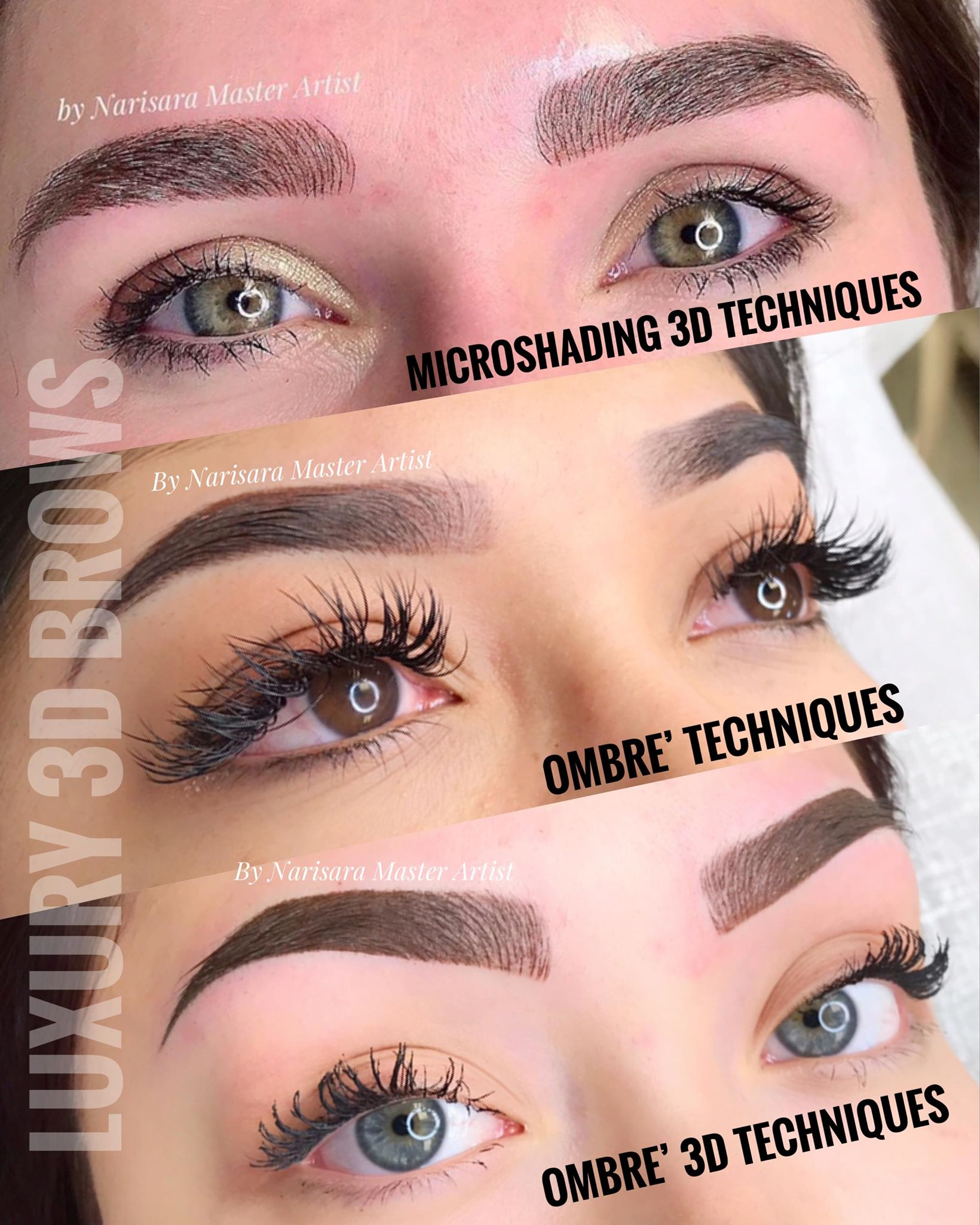 Eyebrows Techniques